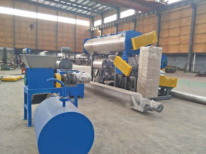 centrifuge machine in fishmeal equipment factory