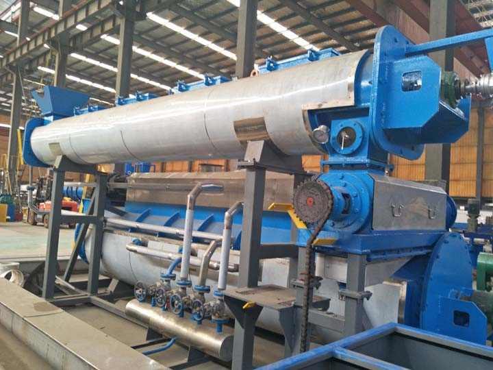 fish press machine in fishmeal production
