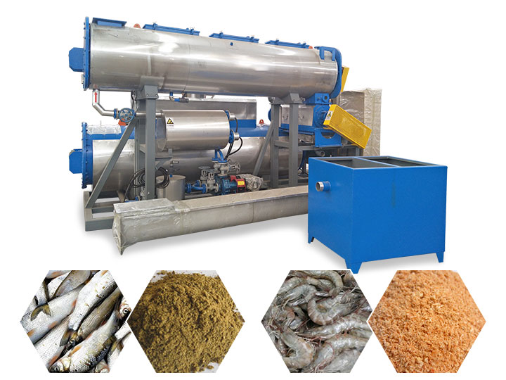 integrated fish meal unit