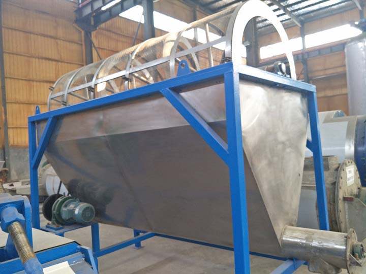 screening machine for fish powder