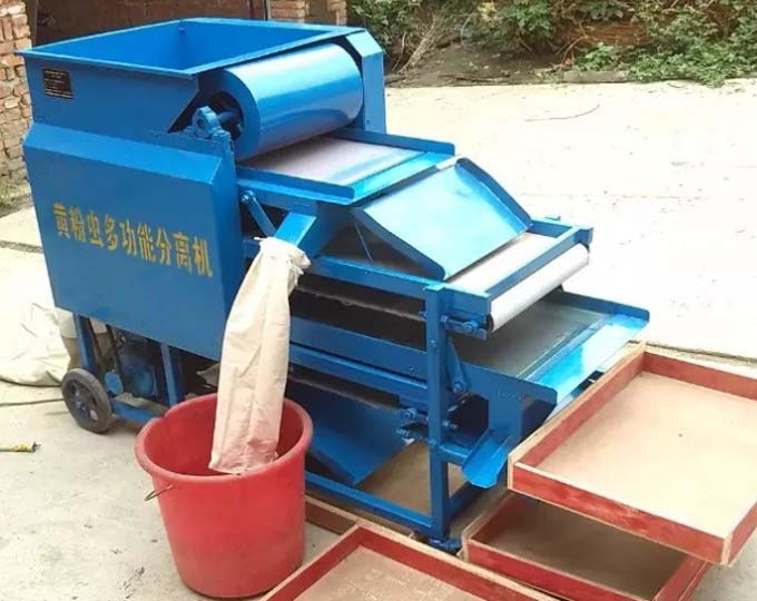 electric mealworm sorting machine details