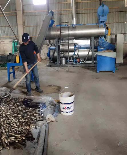 fishmeal making workshop