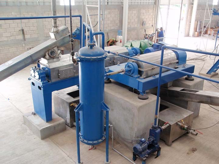 Mecixo fish meal plant