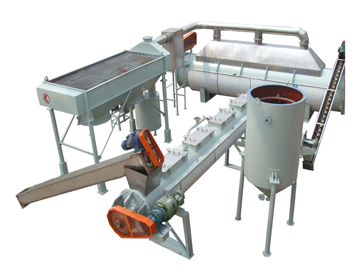 10T/20H defatted fish meal production line