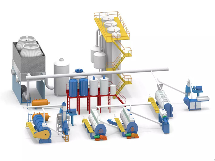 fish meal production line equipment