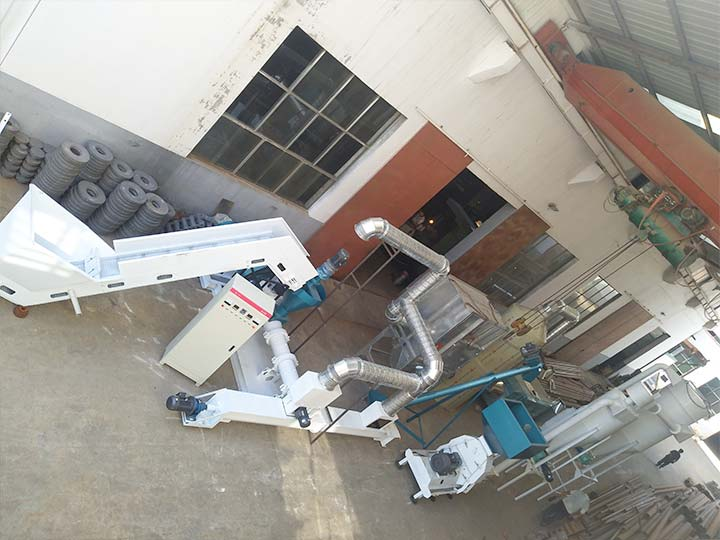 complete feather meal production line design