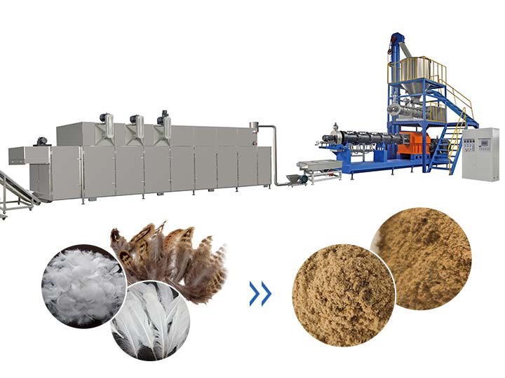 feather meal production line